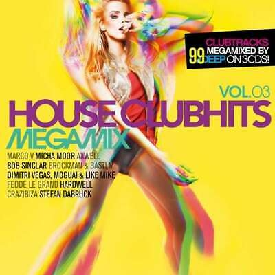 NEU CD  - House Clubhits Megamix Vol.3 #G59580615