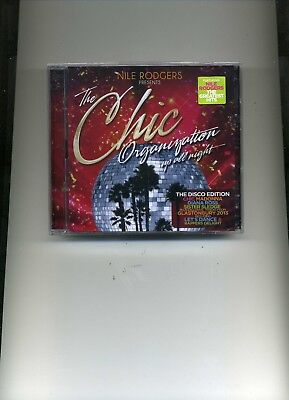 Nile Rodgers Presents The Chic Organization - Up All Night - 2 Cds - New!!