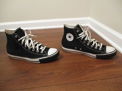 505f407b5fe7 Used Sz 10.5 Fit Like 11 - 11.5 Converse Chuck Taylor All Star High Shoes  Black