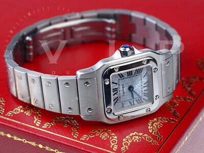 Cartier Santos Galbee Pm Watch Women's Watch / Steel Ladies Watch Orologio Reloj
