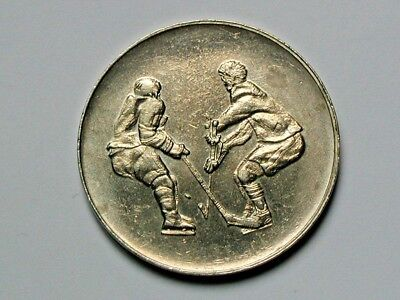 NHL Team CANADA vs Soviet Red Army RUSSIA 1972 Summit Series Hockey Coin Token