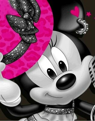 DIAMOND PAINTING MINNIE MOUSE FULL DRILL SQUARE BIG size 45x35cm