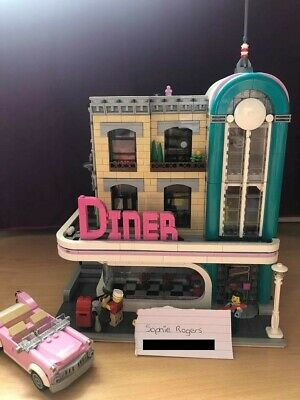 LEGO DOWNTOWN DINER - 10260 | Creator Expert | Complete With