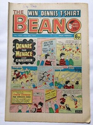 DC Thompson THE BEANO Comic. Issue 1908 February 10th 1979 **FREE UK POSTAGE**