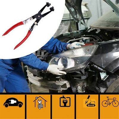 Car Pipe Hose Clamp Pliers Fuel Coolant Clip Curved&Straight Throat  Locking LS