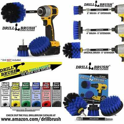 CLEANING SUPPLIES DRILL Brush Boat Accessories Marine Spin Set Kayak Raft  Canoe