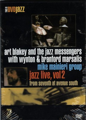 Blakey Art & The Jazz Messe...-Jazz Live Vol 2 - From Seventh At Avenue  DVD NEW