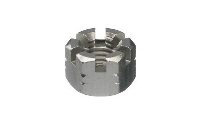 5x Hexagon slotted and castle nut DIN 935-1 Stainless steel A4 Right M24