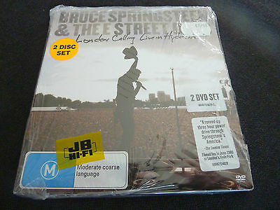 Bruce Springsteen Live In Hyde Park Ultra Rare Sealed New Aussie 2 X Dvd Set!