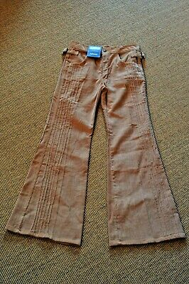 Vintage 1970s Spinney corduroy flares. 30 inch waist, 34 leg. New old stock!