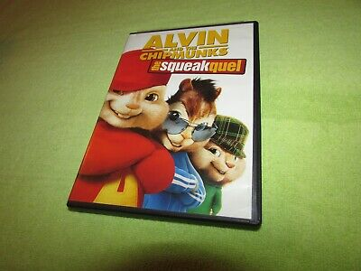 Alvin and the Chipmunks: The Squeakquel (DVD, 2010) Jason Lee, Zachary Levi