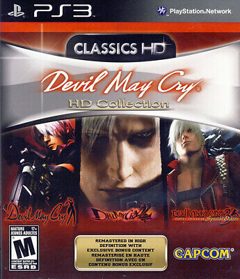 Devil May Cry Hd Collection (Bilingual Cover) (Playstation3)