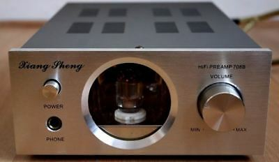 pre headphone amplificatore valvole per cuffie vacum tube valve amplifier HiFI &