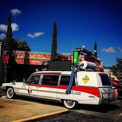 1972 Cadillac Fleetwood Ghostbusters Ghostbusters Making Miles and Miles of Smiles Hearse Limousine