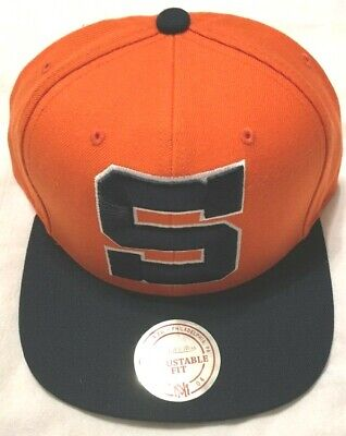 save off 6a97f d6e4e Syracuse University Multi Team Colors S Logo Wool Snap Back Cap Mitchell    Ness