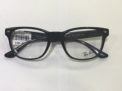 3774a25e7d1 NEW RAY BAN RB6362 (2861) Silver   Top Shiny Black 55  19 145 ...