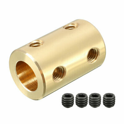 Shaft Coupling 6mm to 8mm Bore L22xD14 Robot Motor Wheel Rigid Coupler Connector