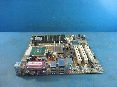 ASUS Motherboard A7NBX-LA WITH CPU AND 512MB RAM