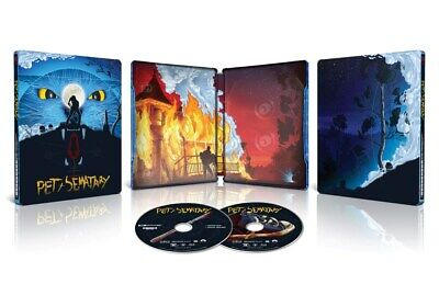 **PRE ORDER** Pet Sematary 4K Ultra HD Mondo Limited Edition Steelbook
