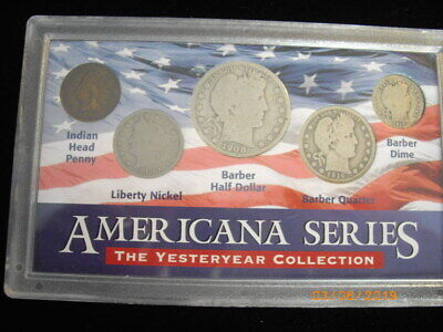 Coins Americana Series The Yesteryear Collection AHS Issued 1998