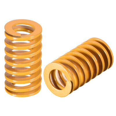 12mm OD 21mm Long Spiral Stamping Light Load Compression Mould Die Spring 2Pcs