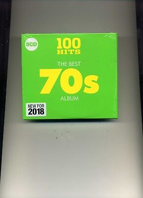 100 Hits - The Best 70S Album - Smokie David Soul Bay City Rollers - 5 Cds - New