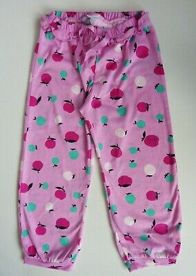 GAP Kids Girls MAGENTA Apple Print P J Pants Pyjamas Lounge Bottoms 4y £14.95