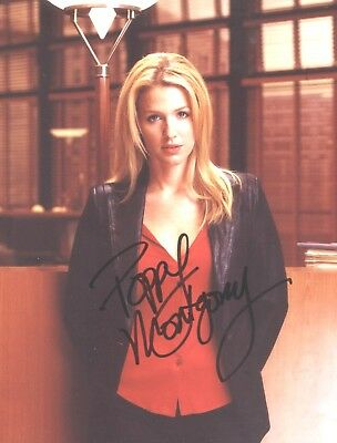 Poppy Montgomery Signed Photo Without A Trace Unforgettable