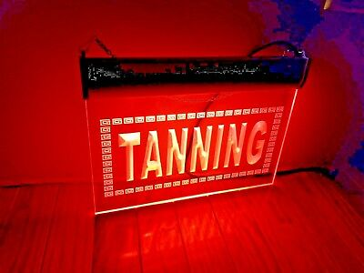TANNING, Tanning Salon, electric display sign, window display sign, NEW
