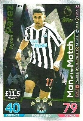 Match Attax 2018/2019 18/19  AYOZE PEREZ MOTM   CARD 429   BY TOPPS