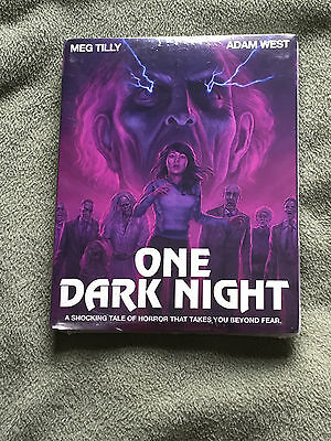 Free*Postage New One Dark Night Blu Ray Code Red Meg Tilly Adam West Slipcover