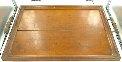 .LARGE / LATE 1800s / ESTATE ENGLISH OAK SERVING TRAY. PRICED TO SELL !!