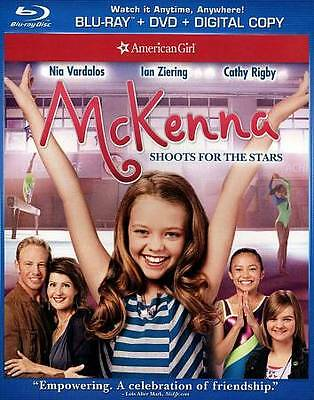 NEW - An American Girl: McKenna Shoots for the Stars (Blu-ray/DVD,  2-Disc Set