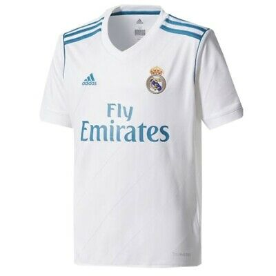 buy online c286c c4386 REAL MADRID 2017 - 2018 Home Jersey ADIDAS ORIGINAL FREE 2-3 DAY SHIPPING