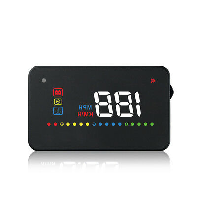 A200 hud car head up display speedometer obd2 temperature water Projection