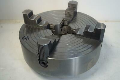 "K72 300 NEW 12/"" 4-JAW LATHE CHUCK with independent  jaws #1204F0"