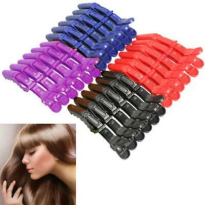 Hairdressing Salon Sectioning Clamp Crocodile Hair Clip Claw Hairpin Grip HO3