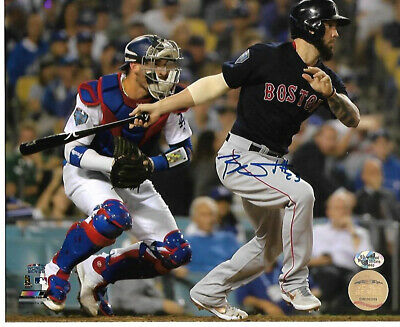 af8a5f7d4 Blake Swihart Wolrd Series Boston Red Sox Autographed 8x10 Photo Coa  Sureshot