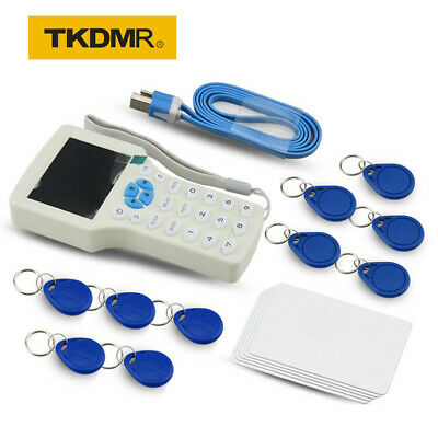 ENGLISH 10 FREQUENCY RFID NFC Card Copier Reader for IC ID