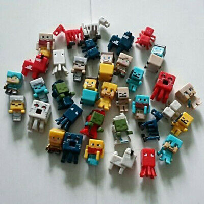 Minecraft Hostile Mobs Cute Mini Action Figure Character Doll Toys Gift AU STOCK