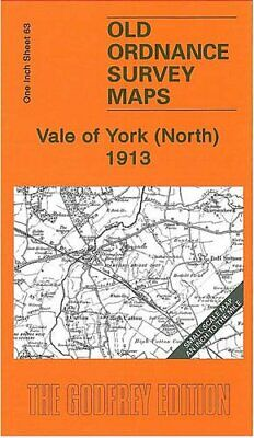 Vale of York (North) 1913: One Inch Sheet 63... by Gough, John Sheet map, folded