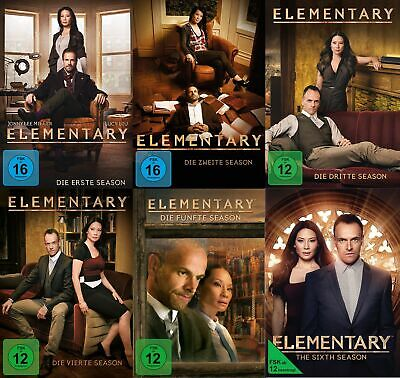 Elementary - Season/Staffel 1+2+3+4+5+6 # 36-DVD-SET-NEU