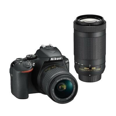 Nikon D5600 w/DX 18-55mm f/3.5-5.6G VR  DX 70-300mm f/4.5-6.3G ED - Refurbished