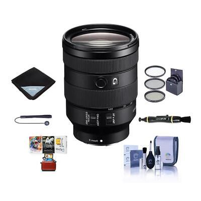Sony FE 24-105mm f/4 G OSS E-Mount Lens With Free Mac Acessory Bundle