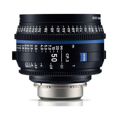 Zeiss 50mm T2.1 CP.3 Compact Prime Cine Lens (Feet) with Canon EF Mount #2177328