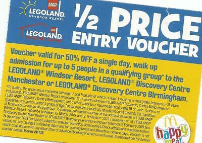50% OFF Voucher FIVE People, Legoland Windsor, Discovery Centre