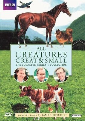 All Creatures Great & Small: The Complete Series 1 Collection [New DVD] Repack