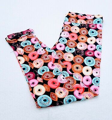 Leggings Youth / Child / Kids ~ Fun Donut Themed