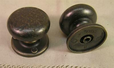 10 Vintage Style Oil Rubbed Brass Knobs Pulls Handle Cabinet Furniture Hardware'