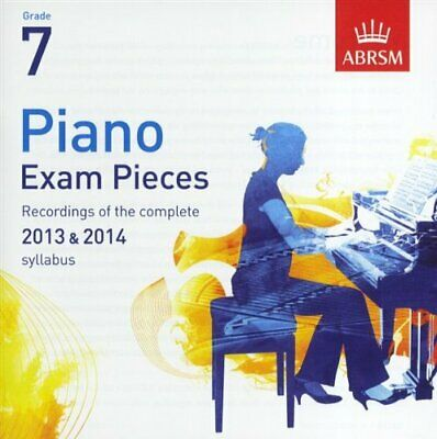 ABRSM Piano Exam Pieces: 2013-2014 (Grade 7) - CD Only -  CD J8VG The Cheap Fast